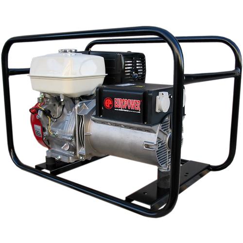 Генератор бензиновый Europower EP 6500 T 3X230V для ж/д в Пионерскийе