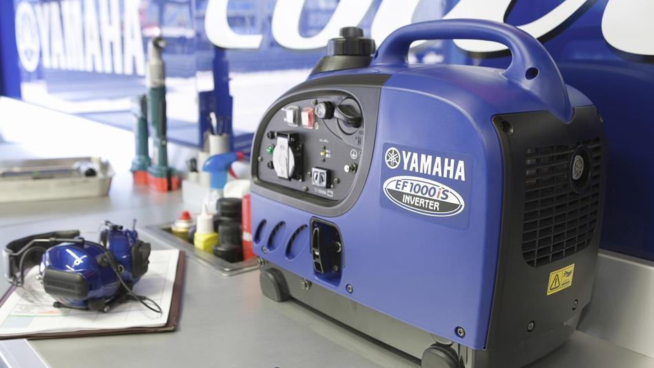 Генератор Yamaha EF1000 в Пионерскийе