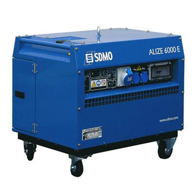 Генератор SDMO ALIZE 6000 E в Пионерскийе