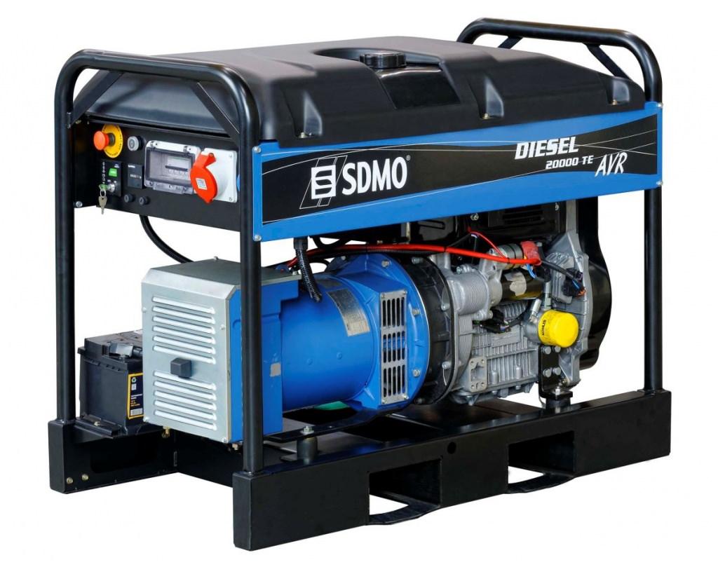 Генератор SDMO DIESEL 20000 TE XL AVR C в Пионерскийе