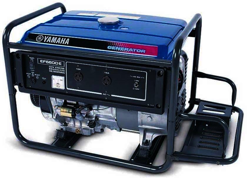 Генератор Yamaha  EF6600E в Пионерскийе