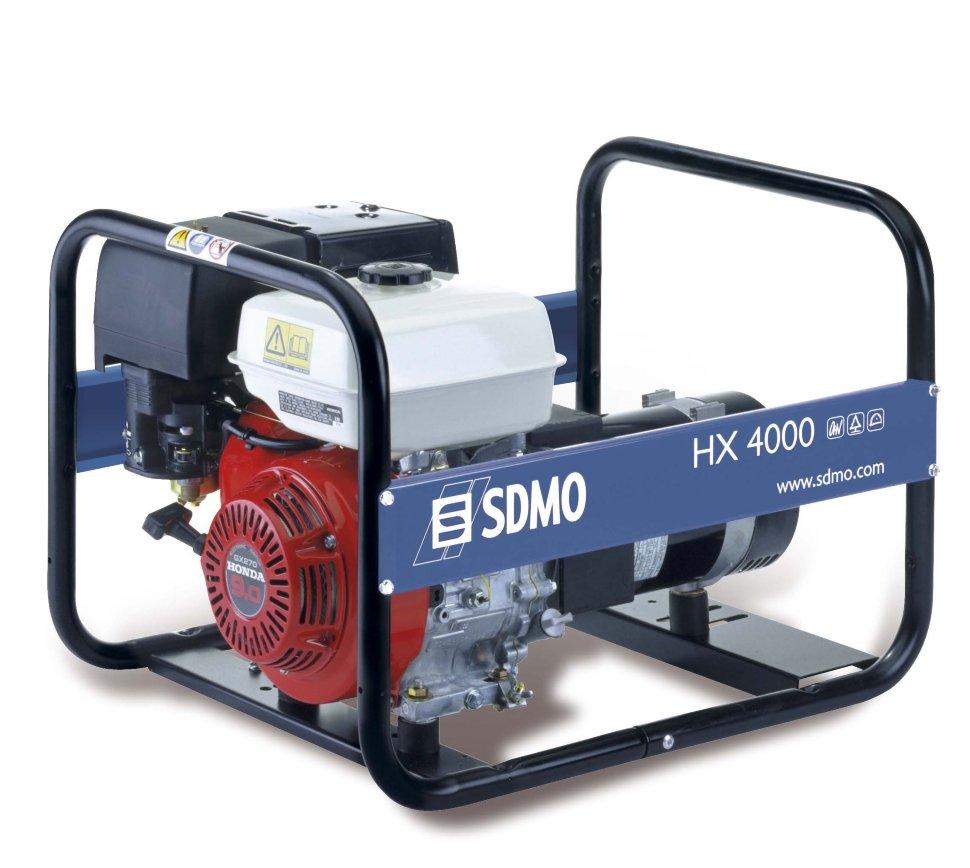 Генератор SDMO HX 4000-S в Пионерскийе