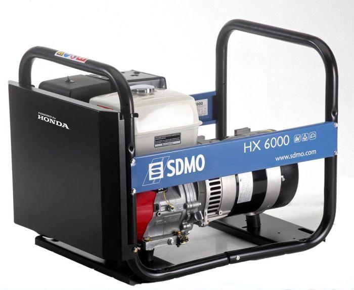 Генератор SDMO HX 6000-S в Пионерскийе