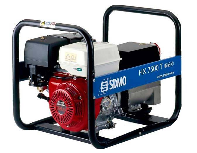 Генератор SDMO HX 7500 T-S в Пионерскийе